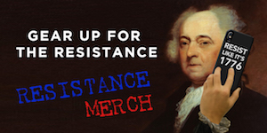 Protest 24/7 with gear from Resistance Merch